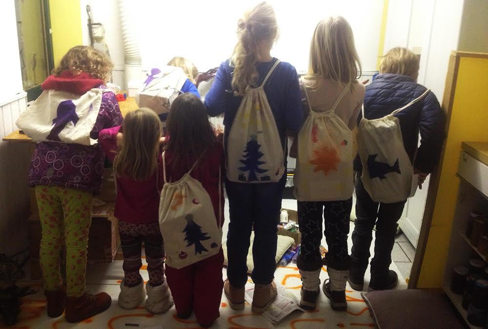 Weihnachts-Bastelkurs für Kinder